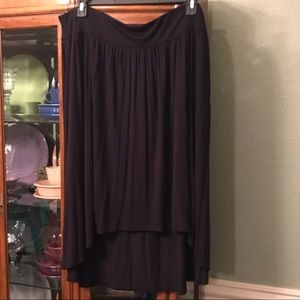 Lane Bryant high-low pleated skirt in 18/20.
